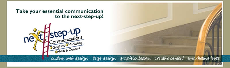 Next-Step-Up Communications - Web Design